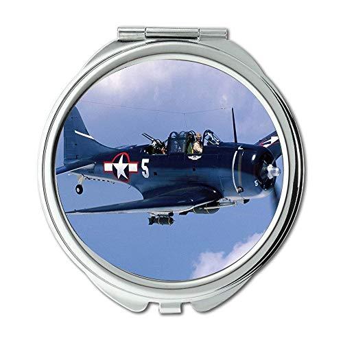 Yanteng Weltkrieg Flugzeuge, Spiegel, Travel Mirror, Kämpfer Ex-Schicht Überprüfung, Taschenspiegel, Tragbare Spiegel
