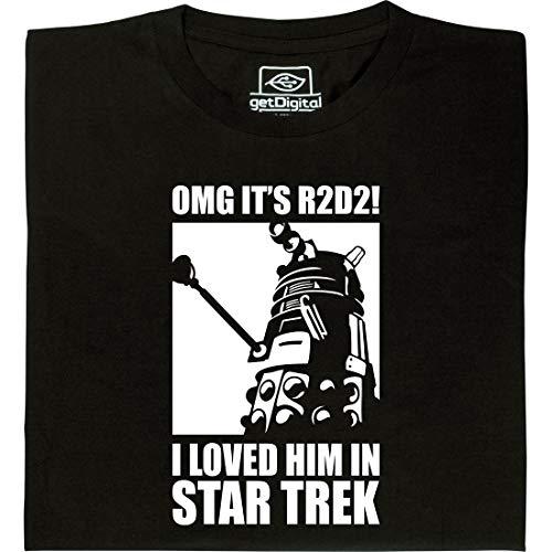 OMG It's R2D2 - Geek Shirt für Computerfreaks aus fair gehandelter Bio-Baumwolle, Größe L