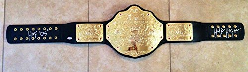 hulk hogan championship belt - 1