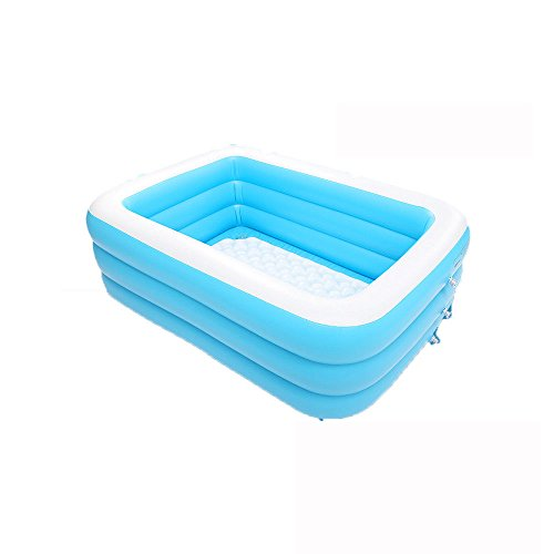 Lowest Prices! MBJZ Plastic inflatable bath home adult thick folding bathtub,19614360cm
