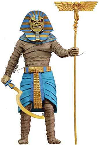 Figura Retro Pharaoh Eddie 20 cm. Iron Maiden. NECA