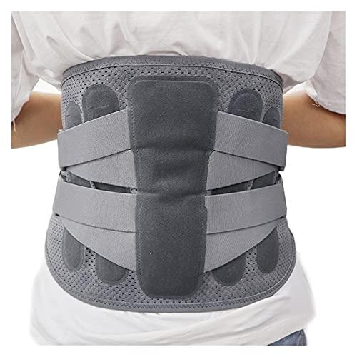 GuanRo El cinturón de la Cintura de Tela Alto de Neopreno Compatible for aliviar el Dolor intervertebral Lumbar, Mantenga la Espalda Recta y corrija la Postura (Tamaño : M)