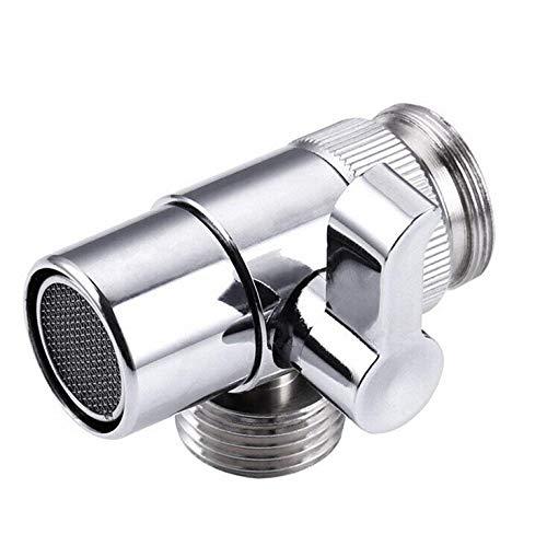 NOLOGO Yg-ct Küchenwerkzeug aus Messing Dusche Arm Umsteller Ventil Splitter-Wasser-Eingang Rohrfittings Badezimmer Küchenzubehör (Farbe : A, Größe : As Shown)