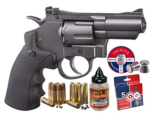 Crosman SNR357 (Pistol + BB and Pellet Cartridges, BB's, Pellets and CO2)