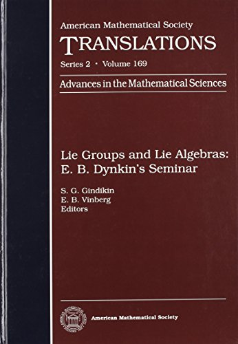 Lie Groups and Lie Algebras: E. B. Dynkin's Seminar: 169