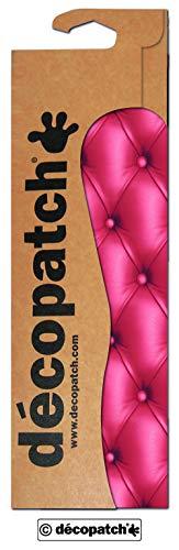 Décopatch-Papier Chesterfield Rot, 3 Bögen, ca. 30 x 39 cm, 20 g/qm