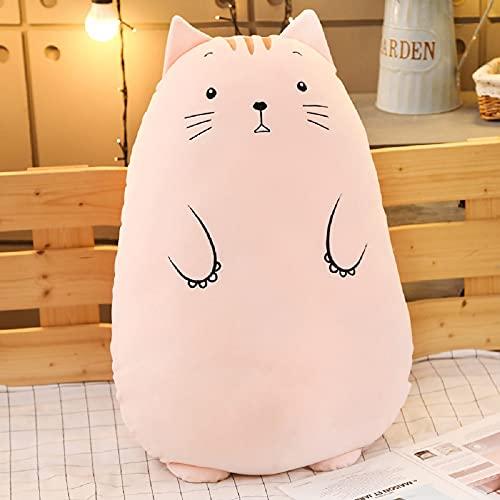 Peluche lindo gatito suave almohada grande 70cm, regalo de cumpleaños para niños y niñas-Baby Playmate-Decoración del hogar