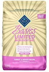 STARTS WITH REAL TURKEY: A recipe that starts with real turkey as the first ingredient, this small breed dog food features a single animal protein source along with potatoes, peas and pumpkin to support gentle digestion, making it a good option for d...