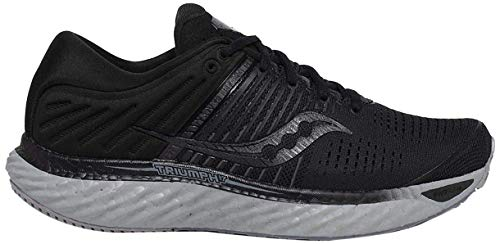 Saucony Women's S10546-35 Triumph 17 Running Shoe, Blackout - 6.5 M US