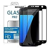 Novago Compatible avec Samsung Galaxy S7 Pack de 2 Films Protection Écran en Verre...