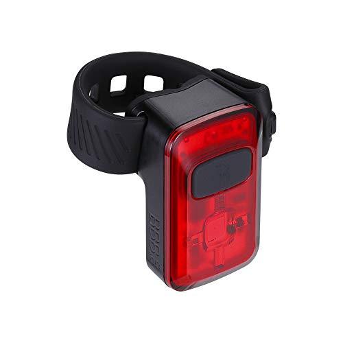 BBB Fahrradlicht Spark 2.0 USB wiederaufladbares Rücklicht | MTB Urban Road 20 Lumen BLS-152, Schwarz