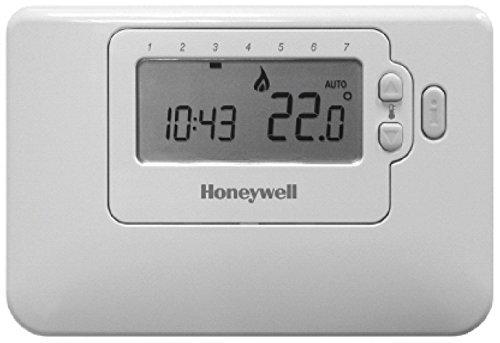 Honeywell Home CMT707A1003 Cronotermostato, 0 W, 0 V, Blanco, 160 X 114 X 50
