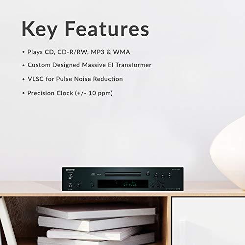 Onkyo C-7030 Home Audio CD Player - Black