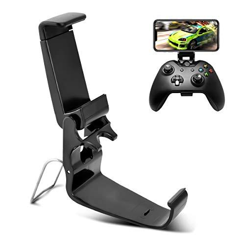 DLseego Xbox One Controller Phone Mount Clip, EIN Klappbarer Handyhalter für Einendyspiele für Xbox Onn Game Controller,Ordner für Hae S/X,SteelSeries Nimbus und XL Wireless Controller