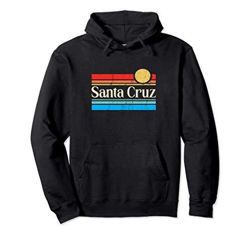 Santa Cruz 70er 80er Retro Premium Felpa con Cappuccio