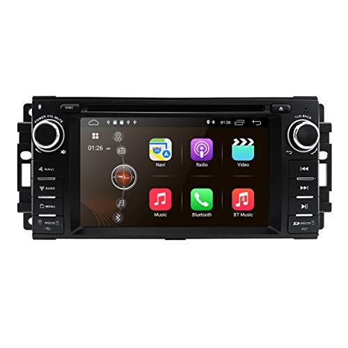 Android 10 Autoradio Navigazione per DSP automatico integrato con schermo da 7 pollici capacitivo Mirror-link Bluetooth WiFi 4G USB DVR SWC RDS per Chevrolet Chrysler Jeep Dodge