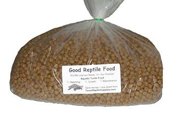 Aquatic Turtle Food Maintenance 6 Lbs Bulk for Adult Aquatic Turtles New 1/4 Inch Size Pellet