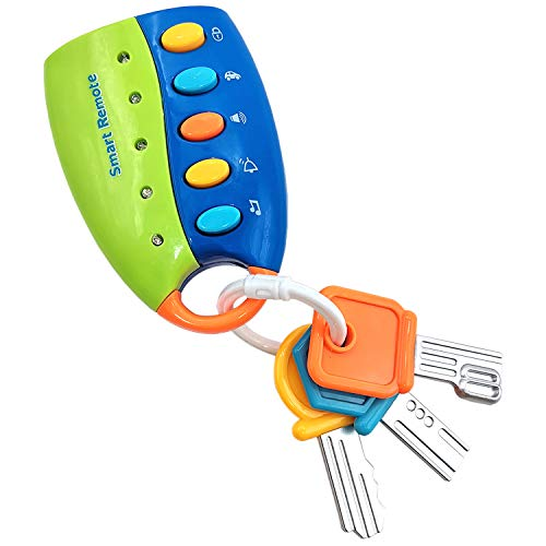 Kids Toy keys Toddler Toys for 1-6 Year Old,Toys for 1-5 Year Old Baby Boys,Gift for 2-6 Year Old Boy