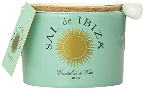 Sal de Ibiza Flor de sal cerámica ,125 gr