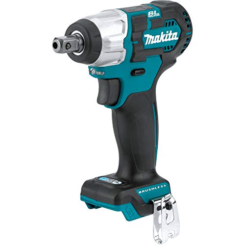 Makita WT06Z 12V max CXT Lithium-Ion Brushless Cordless 1/2' Sq. Drive Impact Wrench, Tool Only