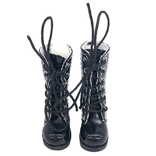 Fashion Black Shoes Boots For 18inch  Doll Party Gifts Baby Toys sa