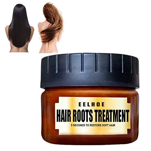 Tensay 60 ML Haar Entgiftende Haarmaske Advanced Molecular Hair Roots Treatment Recovery Elastizität Haarspülung Glanz Anzug für langes Haar Kurzes Haar Dauerwelle Sterben
