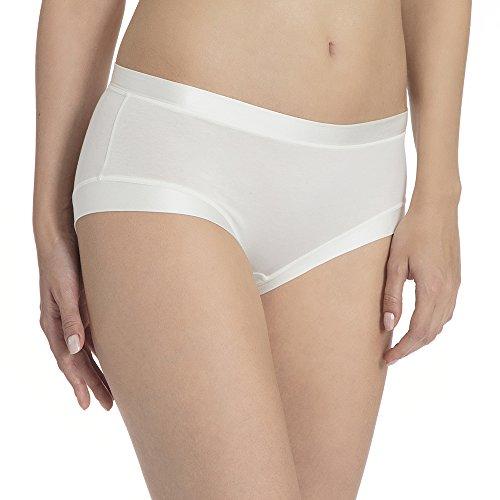 Calida Cate Damen Panty, Damen Culotte, Elfenbein (Alabaster Crème 911), 40/42 (Herstellergröße: S)