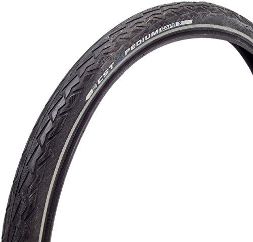 CST Xpedium Safe Neumáticos para Bicicleta, Unisex Adulto, Negro, 28 x 1 5/8 x 1 3/8' 37-622