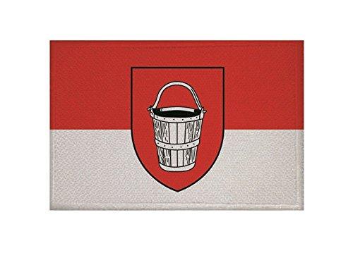 U24 Aufnäher Emmerich am Rhein Fahne Flagge Aufbügler Patch 9 x 6 cm