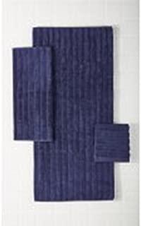 Mainstays Performance Texture 6-Piece Bath Towel Set Navy