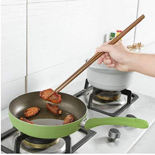 Angoter Küche Stäbchen Kochen Lange Stäbchen Fried Noodle Werkzeuge Haushalt Geschirr Lange Fried Convenient Holz Stäbchen 38cm