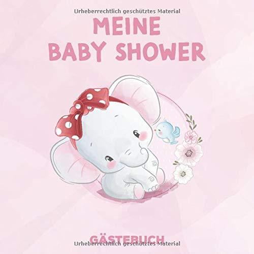 BABY SHOWER GÄSTEBUCH: Babyparty | Baby Shower Girl | Baby Shower Boy | Baby Party Mädchen | Baby Party Junge | Tolle Geschenkidee für frisch gebackene Eltern