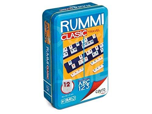 Cayro - Rummi viaje - Juego tradicional - juego mesa