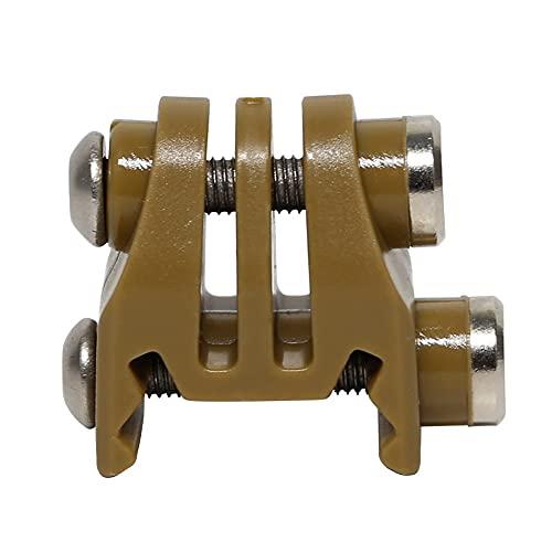 KODENOR Conector de Arma de cámara de plástico 20mm Adaptador de Montaje de riel de picatiny para Go/Pro 3+ 4 (Color : GO-33-T)