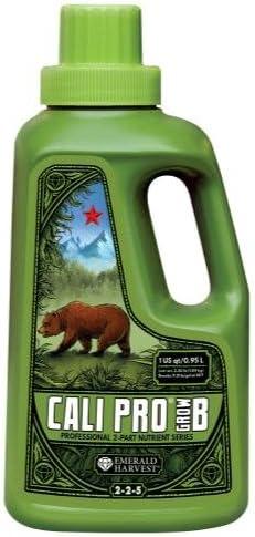 Emerald Harvest 723902 Cali Pro Grow Cs B 12 Quart 0.95 Sales Challenge the lowest price Liter
