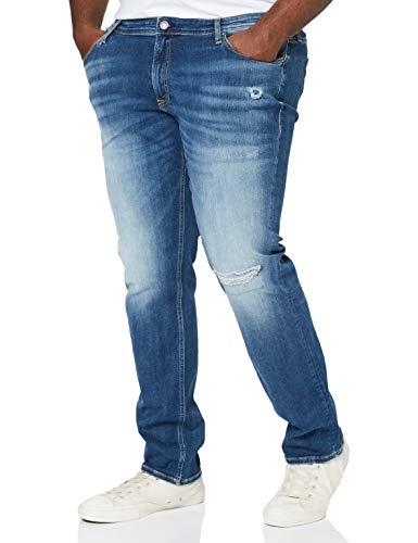 Jack & Jones JJIGLENN Jjoriginal SIK 631 PS Jeans, Bleu Denim, 54W x 34L Homme