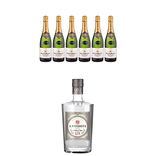 Brut Dargent Chardonnay Méthode Traditionnelle (6 x 0.75 l) + Antidote London Dry Gin (1 x 0.7 l)