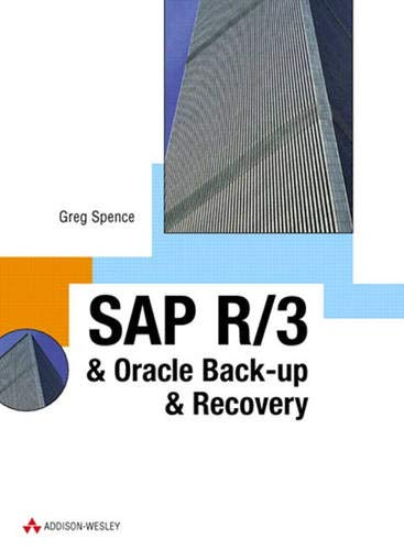 SAP R/3 & Oracle Backup & Recovery (SAP Press)
