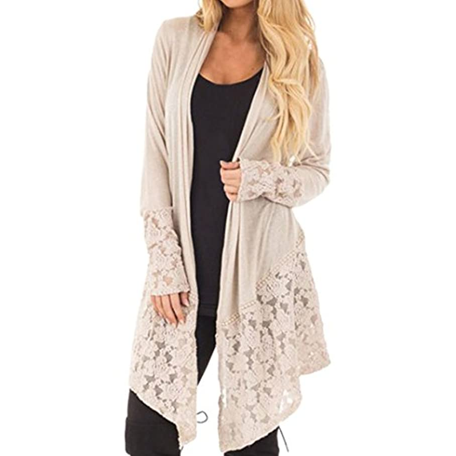 Cardigans for Womens, FORUU Fashion Lace Long Sleeve Casual Coat Open Front e337328425