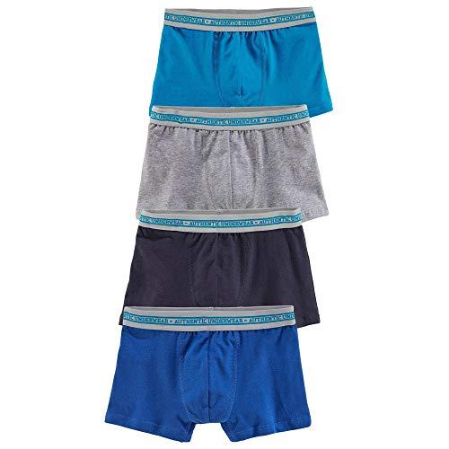 Le Jogger Authentic Underwear Jungen Boxershorts, 4 er Pack 889159, 574872, 547974 (146/152, Farb-Set)
