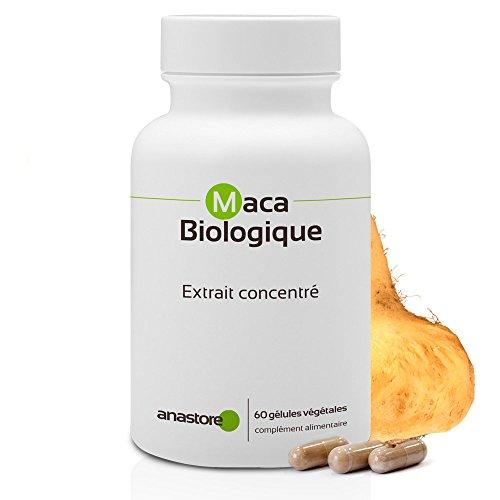 MACA ANDINA ECOLÓGICA * 500 mg / 60 cápsulas * Extracto concentrado 4:1 (Organic Macatonic) * Energia, Equilibrio emocional, Vitalidad