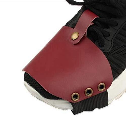 Shipenophy Zapatos Protectores de Zapatos reconocibles para Mejorar la Apariencia del Motocross(Red)