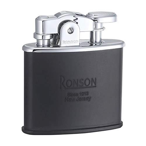 Ronson Nostalgie benzine-aansteker, zwart