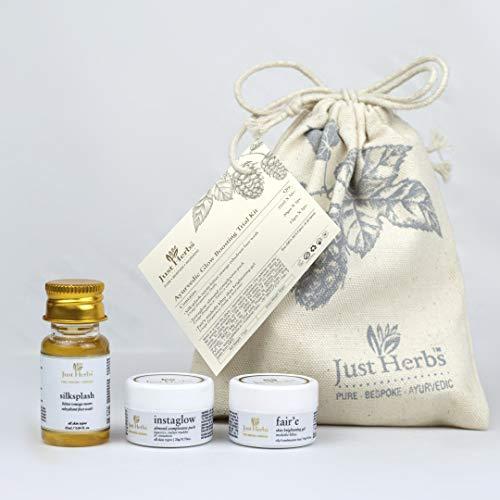 Just Herbs Ayurvedic Glow Boosting Trial Kit