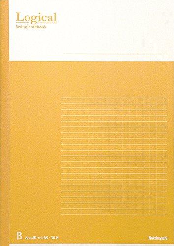 ナカバヤシノーB501Aー5Pスイング・ロジカルノートB5サイズA罫5冊ハ