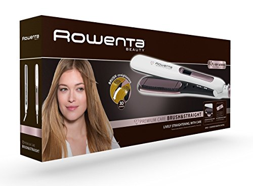 Rowenta Premium Care Brush & Straight SF7510F0 – Plancha de pelo