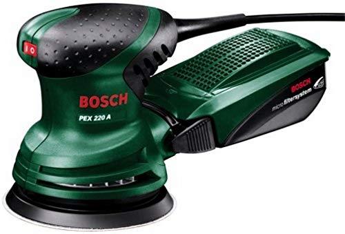 Bosch Exzenterschleifer PEX 220 A (220 Watt, im Karton)