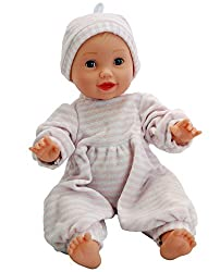 "DH Beacon Dementia Therapy Doll, 16"" - Weighs 3 lbs. Provides Comfort for Patients with Alzheimer's Disease & Dementia, Aids in Communication, Social Interaction & Stress Reduction"