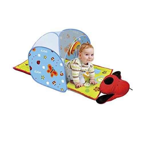 K's Kids Tente Pop-Up avec 4 Pattes Baby Crawl Tunnel