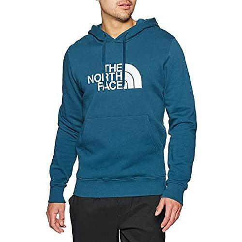 The North Face Men's Light Drew Pullover Hoodie Felpa con Cappuccio, Blue, M Uomo